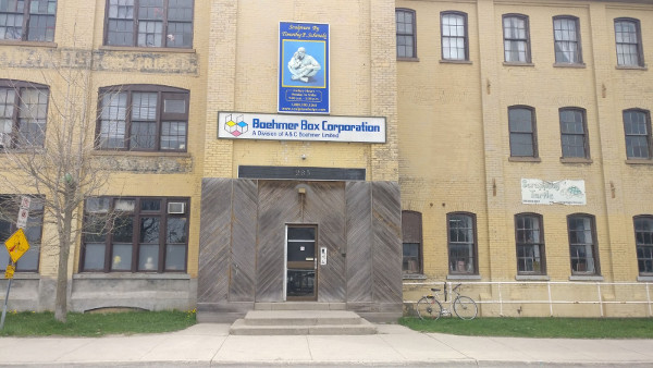 Duke St Entrance to old Boehmer Box building