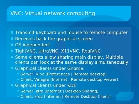 VNC (Virtual Network Computing ) | KWLUG - Kitchener